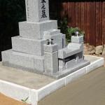 益田市木部町Y家様墓石建立工事