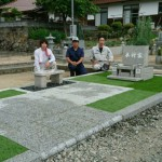 津和野町大定院内M家様累代墓石建立工事 完工!