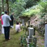 8月31日 M家様・お墓終い & 津和野町蕪坂墓地/O家様・墓所改修工事その2