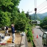 吉賀町立戸/U家様・累代墓石建立工事 ついに工事完了!