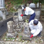 益田市七尾町 S家様墓所改修工事