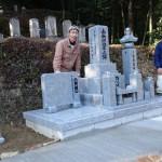 鹿足郡津和野町/K家様 累代墓石建立工事 完工