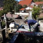鹿足郡津和野町/M家様・累代墓石建立工事 着工