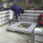 鹿足郡津和野町T家様の墓所改修工事