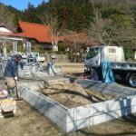鹿足郡津和野町/K家様・累代墓石建立工事 着工