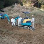3月22日 鹿足郡津和野町長野/F家様・墓所移設工事!着工!