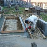 4月3日 吉賀町六日市/M家様・墓所改修工事 着工!