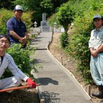 津和野町F家様 墓所移設改修工事 完工!