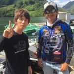 JBトップ50 第二戦弥栄湖に行ってきました!