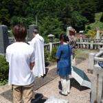 8月29日 津和野町蕪坂墓地/O家様・墓所改修工事 着工!