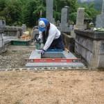 10月18日 津和野町/S家様・累代墓石建立工事 完 工