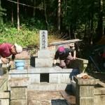 お待たせいたしました……益田市美都町 Ⅿ家様墓所補修工事 完 工 !