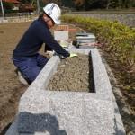 津和野町防災祈念碑建立工事 おかげさまで 完  工 !