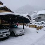 島根県西部地方 積 雪 40㎝ (^_^;)