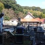 大田市へ出張! 墓所解体搬出工事 完 了