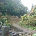 津和野町F家様 墓 所 改 修 工 事