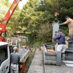 益田市美濃地町 墓所移設工事 2件完工!