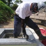 益田市内お墓終い2件 バッチリ完工いたしました!