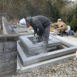益田市中須町にてM家様の墓所移設工事をさせていただきました!