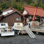 吉賀町六日市にてT家様の累代墓石建立工事をさせていただきました!