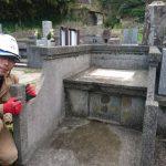 浜田市でお墓じまい完工です