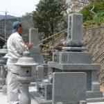 吉賀町七日市にてK家・Y家2件様分の墓所移設工事!!