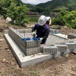 N家様墓所移設工事地域一番のカッコよさで完工です!