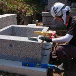 津和野町木部地区にてA家様のお墓を創らせていただきました!