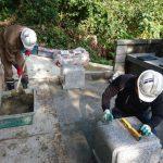 浜田市三隅町にてお墓のリフォーム工事 完 工 ❕ ❕