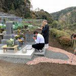 津和野町冨田N家様累代墓石建之工事完工!