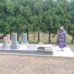 津和野町にてN家様の墓所製作等工事をさせていただきました!
